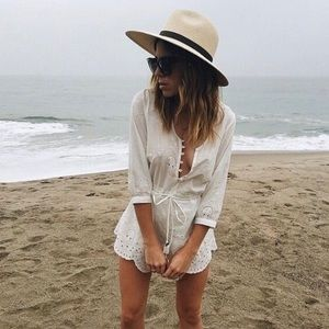 Spell & The Gypsy Indian Summer Playsuit White Sm